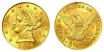Coronet Head Gold $2.50 Quarter Eagle