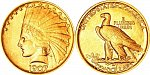 Indian Head Gold $10 Eagle