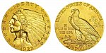 Indian Head Gold $2.50 Quarter Eagle