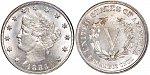 Liberty Nickels