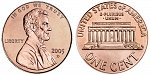 Lincoln Memorial Cent Small Cents