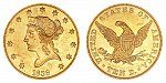 Coronet Head Gold $10 Eagle