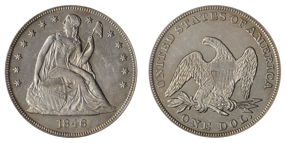 1846 Seated Liberty Silver Dollars Value And Prices
