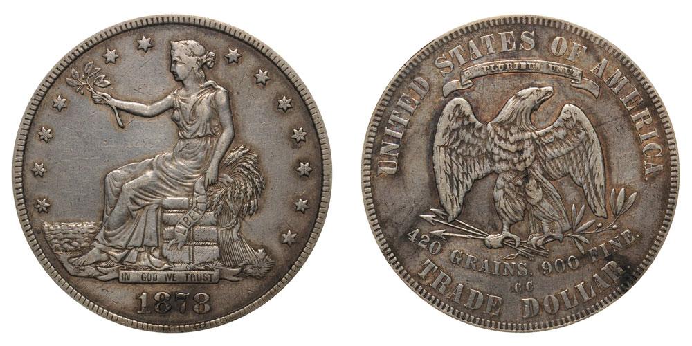 1878 Cc Trade Silver Dollar Coin Value Prices Photos Amp Info