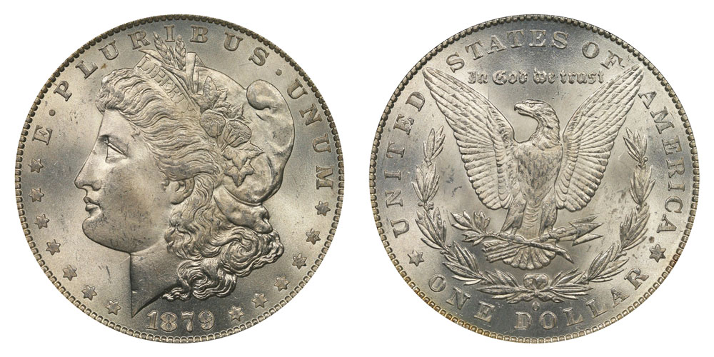 1879 O Morgan Silver Dollars Value And Prices