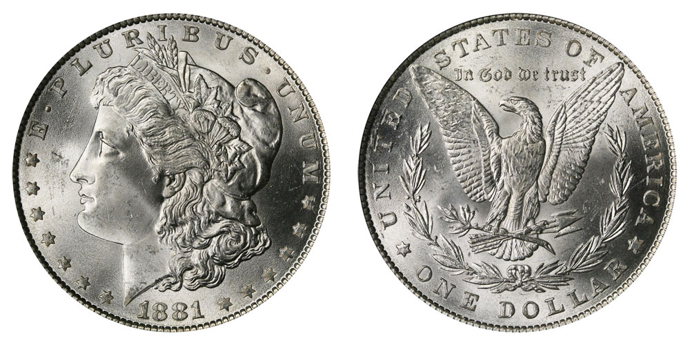 1881 Morgan Silver Dollars Value And Prices