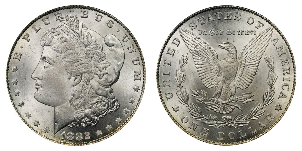 1882 Morgan Silver Dollar Coin Value Prices Photos Amp Info