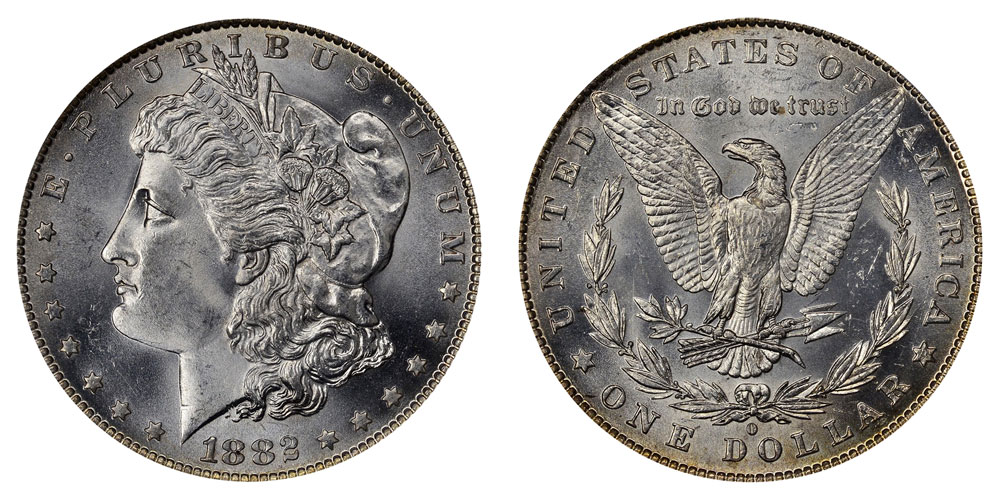 1882 O Morgan Silver Dollars Value And Prices