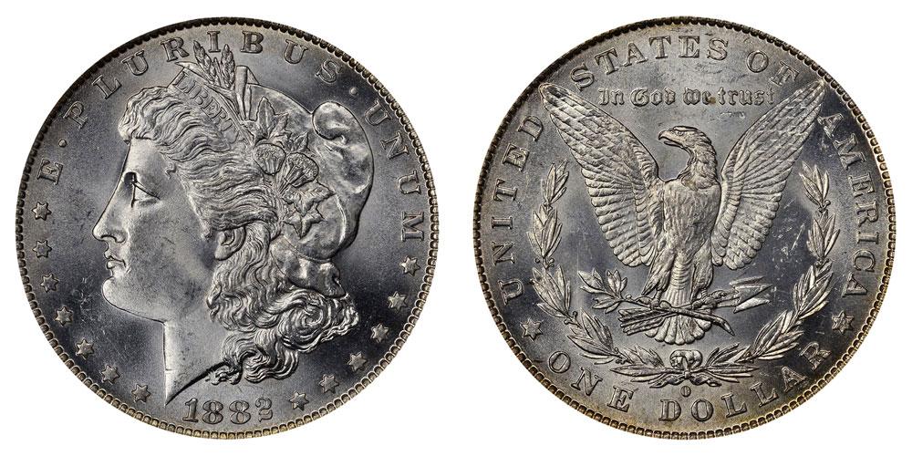 1882 O Morgan Silver Dollar Coin Value Prices Photos Info