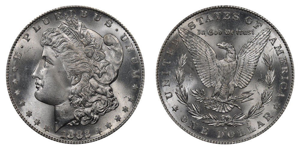 1882 S Morgan Silver Dollar Coin Value Prices Photos Amp Info