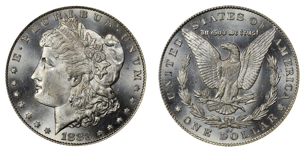 1883 Cc Morgan Silver Dollar Coin Value Prices Photos Amp Info
