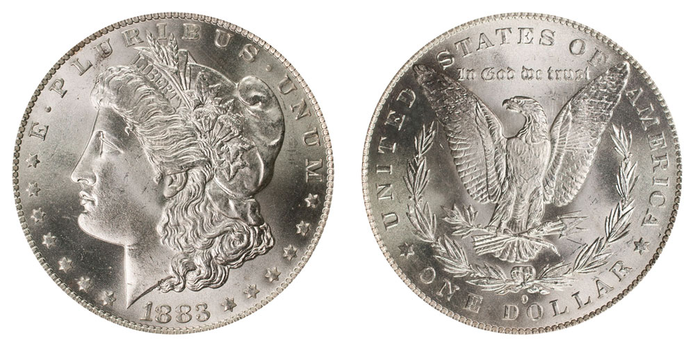 1883 O Morgan Silver Dollars Value And Prices