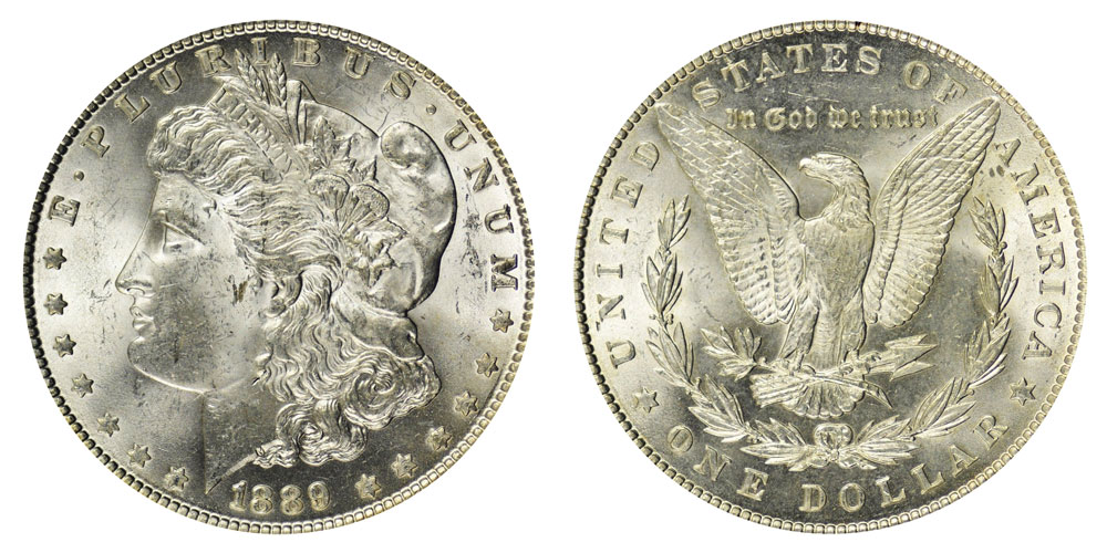1889 Morgan Silver Dollar Coin Value Prices Photos Amp Info
