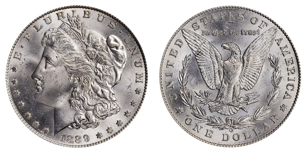 1889 O Morgan Silver Dollars Value And Prices