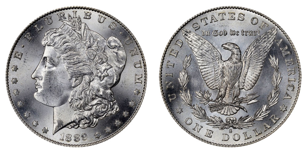 1889 S Morgan Silver Dollars Value And Prices