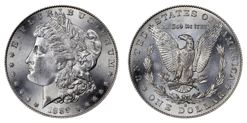 1889 S Morgan Silver Dollar Coin Value Prices Photos Amp Info