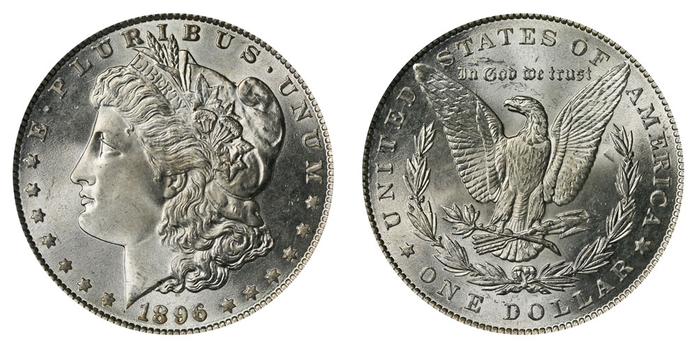 1896 P Morgan Silver Dollars Value And Prices