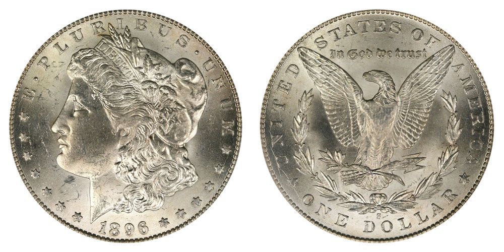 1896 S Morgan Silver Dollars Value And Prices