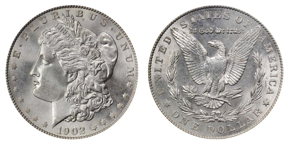 1902 Morgan Silver Dollar Coin Value Prices, Photos & Info