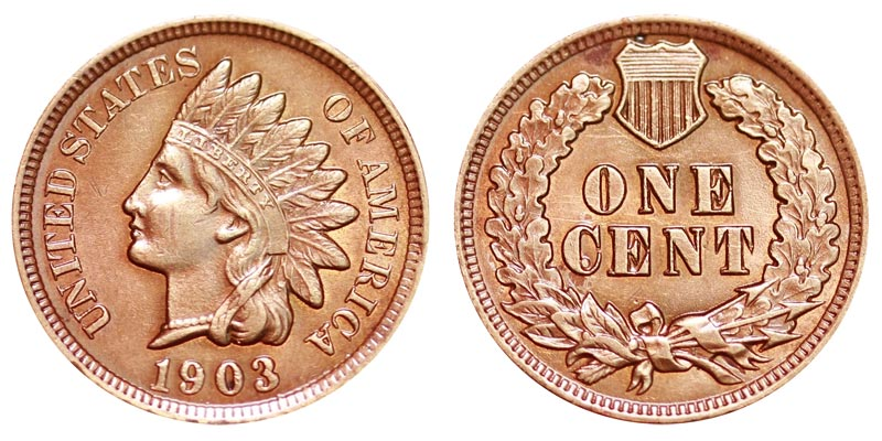 1906  INDIAN  HEAD  CENT #4