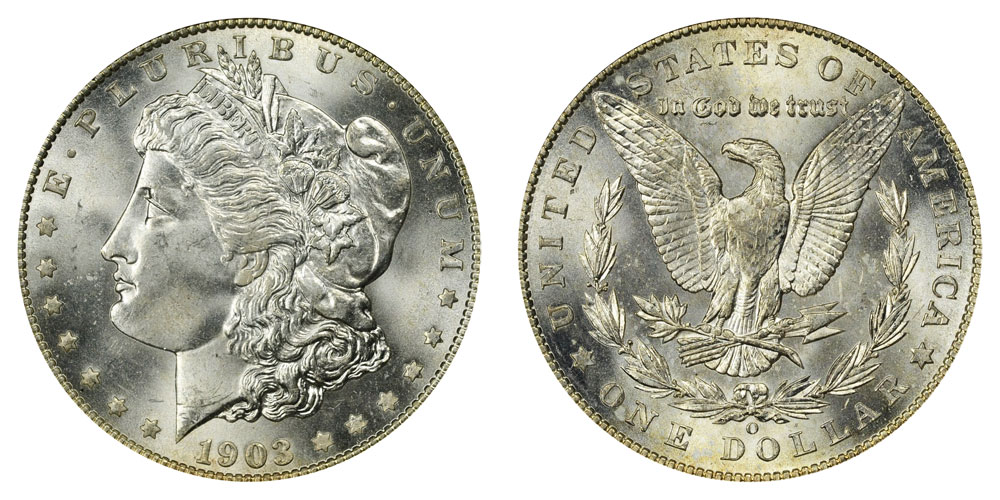 1903 O Morgan Silver Dollars Value And Prices
