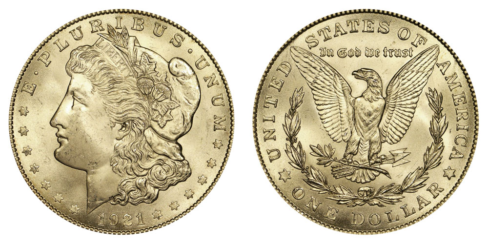 1921 P Morgan Silver Dollars Value And Prices