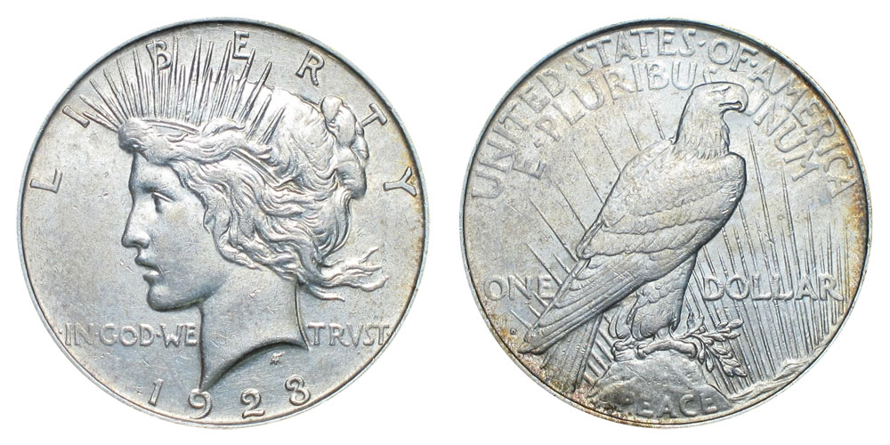 1923 D Peace Silver Dollars Value And Prices