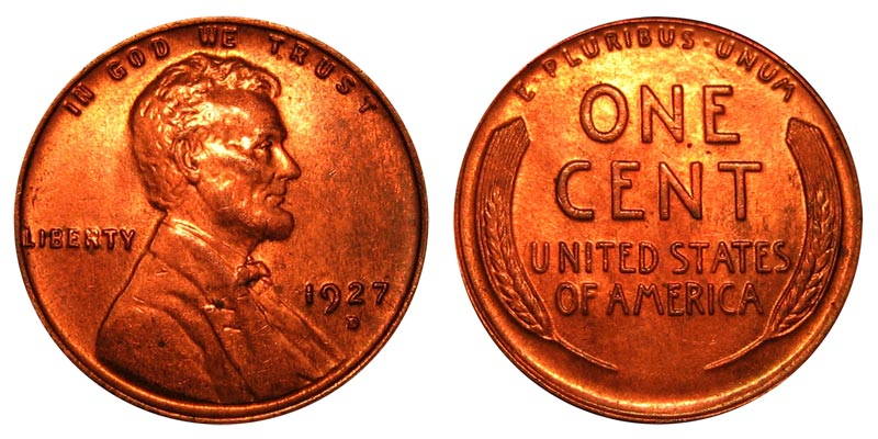 1929  LINCOLN WHEAT CENT #7