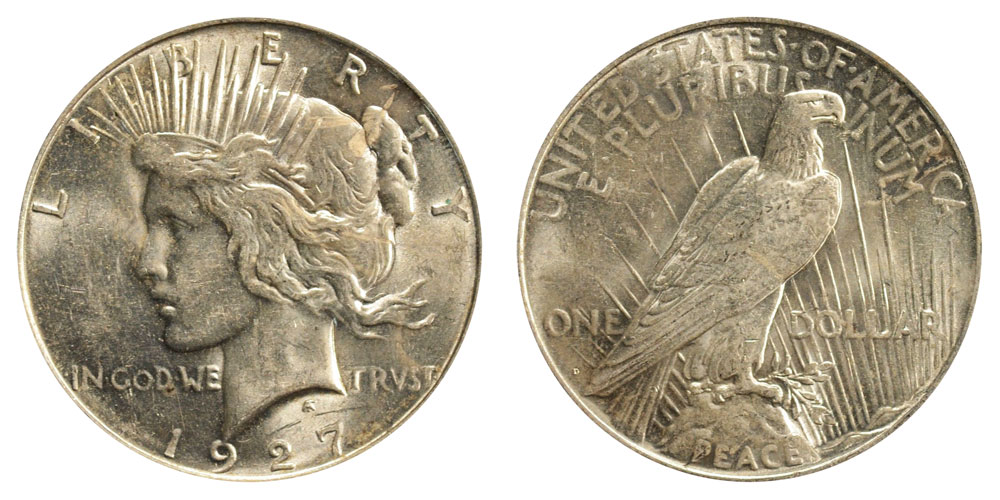 1927 D Peace Silver Dollars Value And Prices