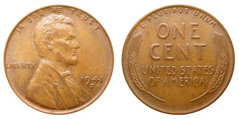 1941 D Lincoln Wheat Penny Coin Value Prices, Photos & Info
