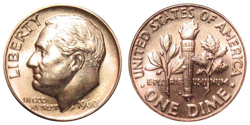 1960 D Roosevelt Silver Dime Coin Value Prices Photos Info