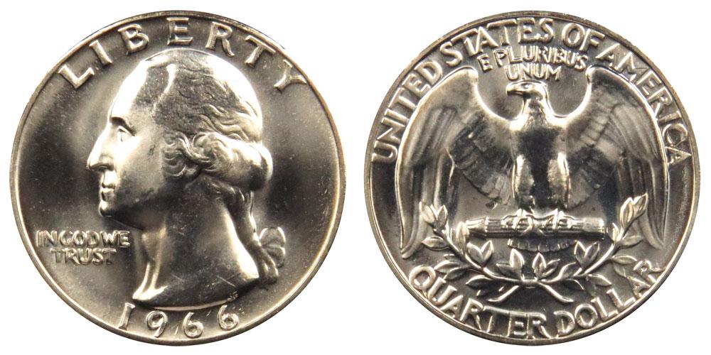 1967 P Washington Quarter About Uncirculated AU
