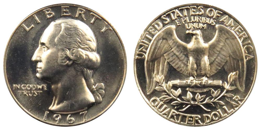 1967 P Washington  Quarter PCGS MS66