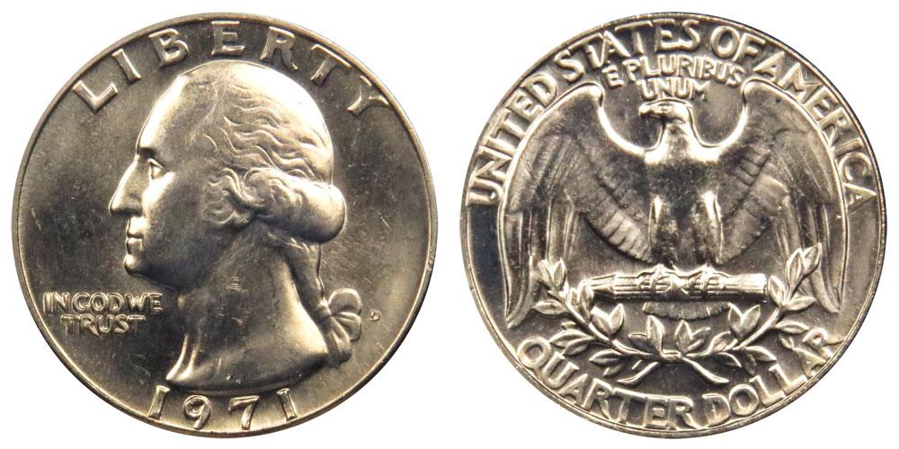 1971 D Washington Quarter Coin Value Prices, Photos & Info