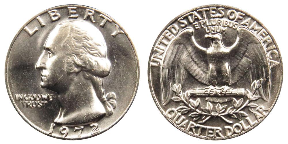 1972 Washington Quarter Coin Value Prices, Photos & Info