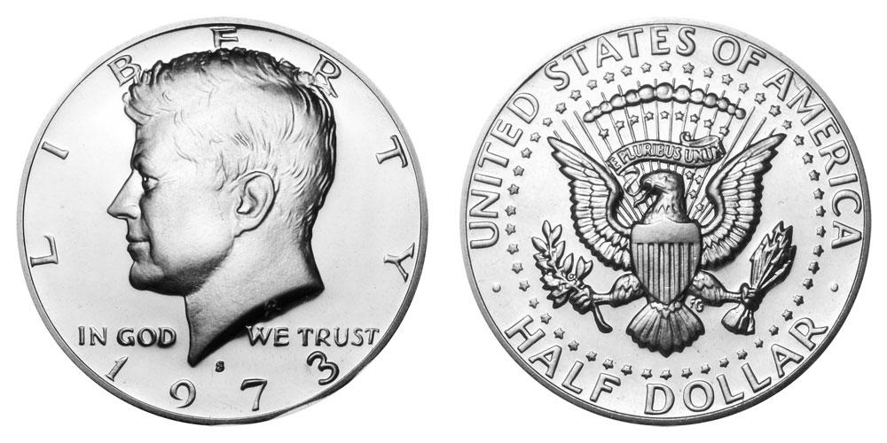 WOW! 1973 P 50C Kennedy Half Dollar Never Circulated Wow