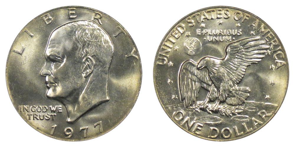 1977 P Kennedy Half Dollar in BU condition