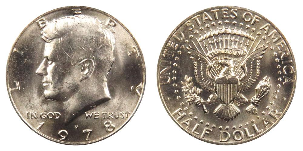1978 D Kennedy Half Dollar Coin Value Prices, Photos & Info