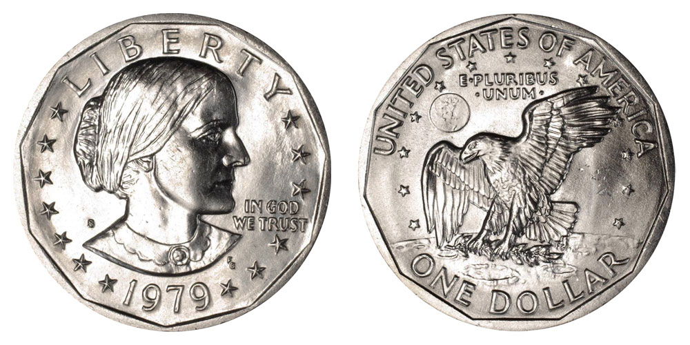 1979 S Susan B Anthony Dollars Value And Prices