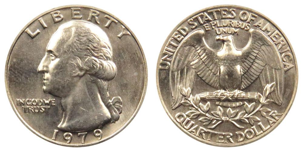 1979 Washington Quarter Coin Value Prices, Photos & Info