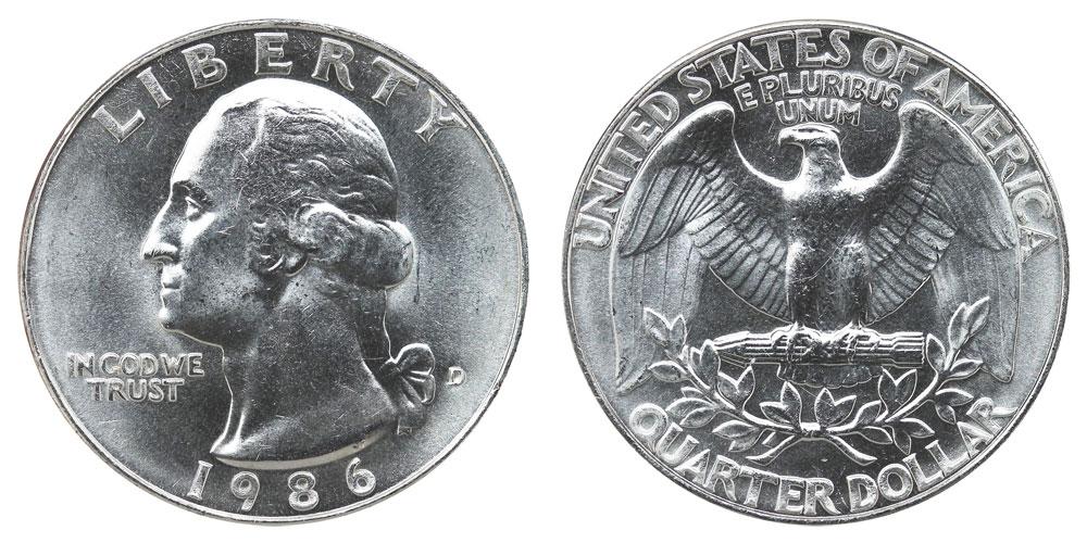 1986 D Quarter Error