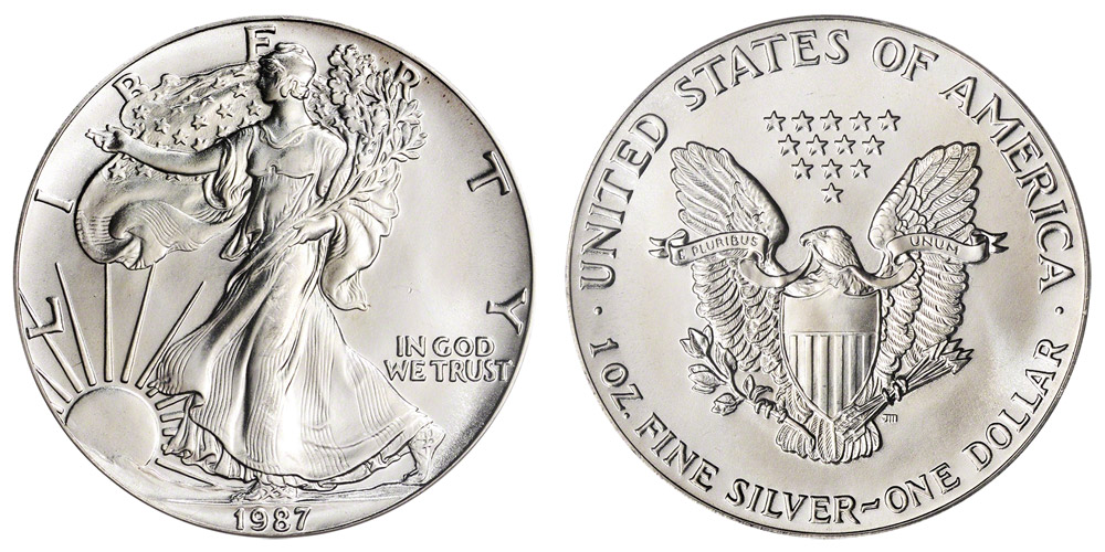 Silver Eagle Coin Value Chart March 2019
