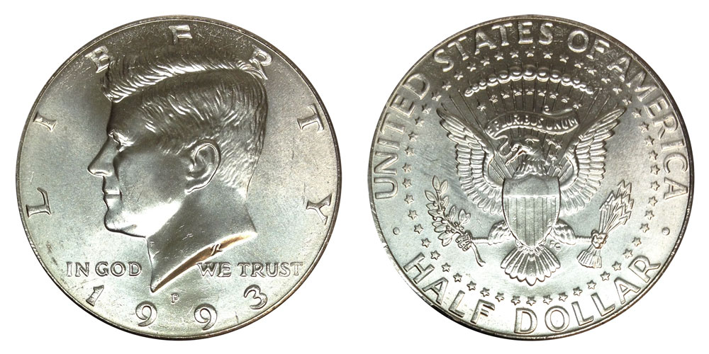 1993 S KENNEDY *PROOF* HALF DOLLAR  **FREE SHIPPING**