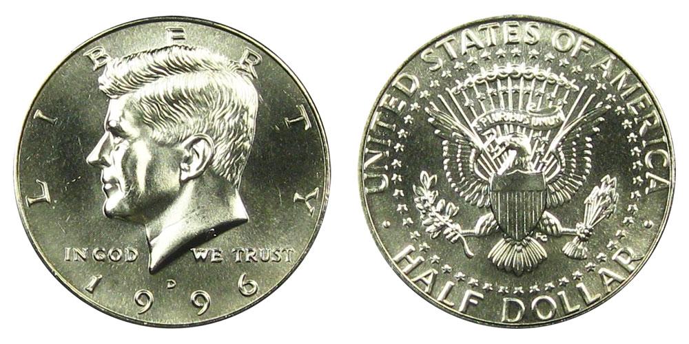 1997-D Kennedy Half Dollar Choice BU