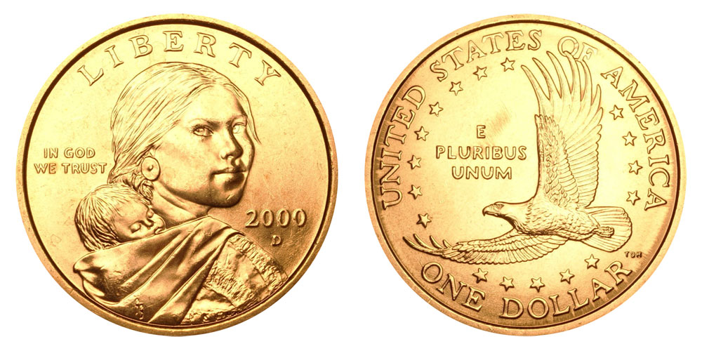 2000 d sacagawea dollars golden dollar value and prices for 2000 dollar cabin