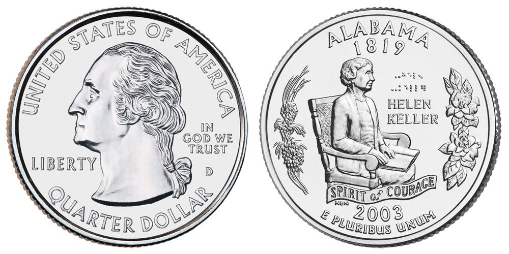 alabama quarter coin