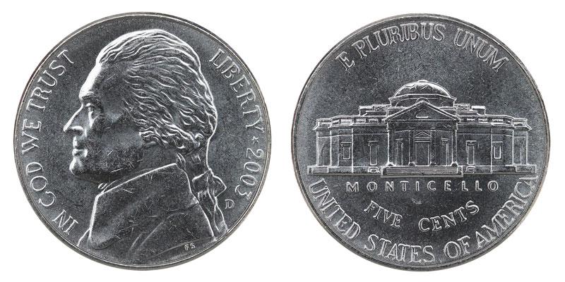2003 D Jefferson Nickel Coin Value Prices, Photos & Info