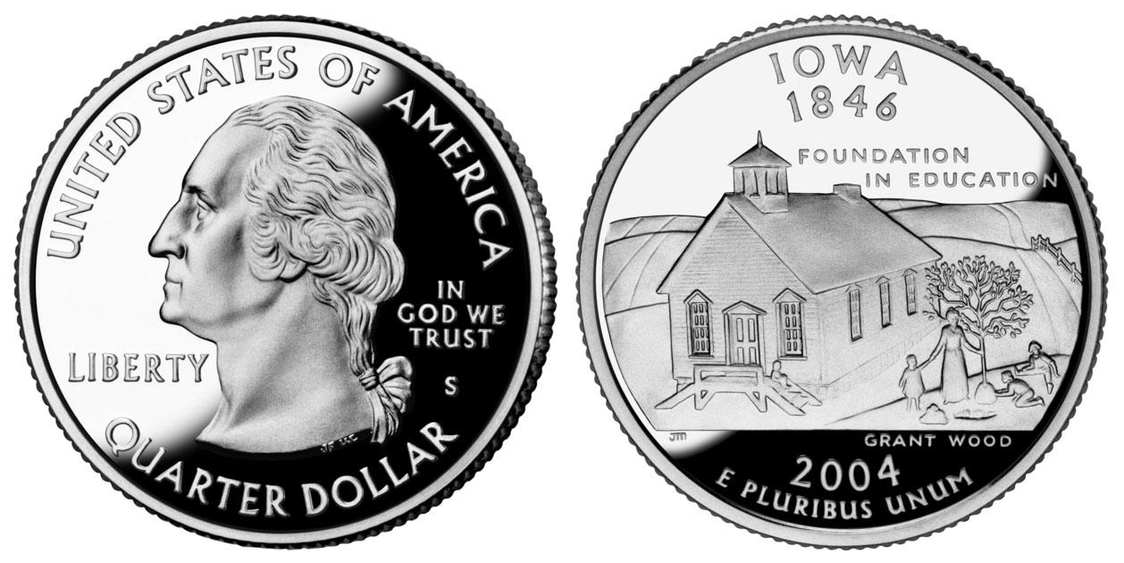 2006 P South Dakota 50 State Quarter Statehood P ~ UNC  2nd
