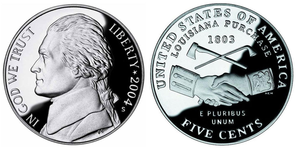 2004 P Jefferson Nickel Peace Medal Coin Value Prices, Photos & Info