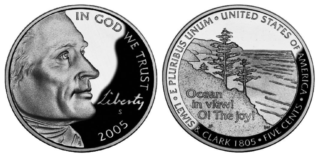 2005-S Ocean View Proof Jefferson Nickel Priced Right Shipped FREE